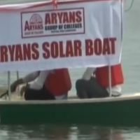 Chandigarh Engineering Students Devise Solar Boat For Dal Lake