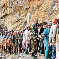 Government asks Amarnath Yatris in Kashmir to return immediately given the prevailing security situation