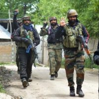 Security forces kill two terrorists, including top Lashkar commander, in Budgam