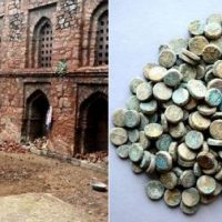 Delhi: ASI discovers 254 copper coins in the premises of Khirki Mosque