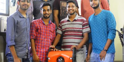 Kochi Based Innovations Startup Develops India's First Underwater Drone