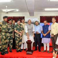 Rajnath Singh inaugurates smart fencing project along International Border in J&K