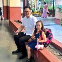 Even a hardworking minister like Kiran Rijiju couldn't turn down his daughter's cute request
