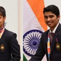 Manu Bhaker, Saurabh Chaudhary win Air Pistol Mixed Team Junior event in Kuwait City