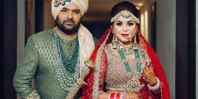 Comic Star Kapil Sharma Ties Knot With Sweetheart Ginni Chatrath