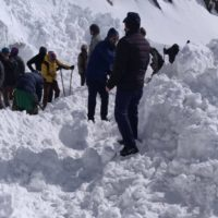 Three people dead, 7 feared trapped under snow in an Avalanche in Ladakh
