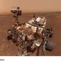 Curiosity takes last selfie at Vera Rubin Ridge on Mars