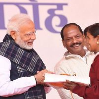 PM Modi witnesses e-GrihPravesh of 25,000 beneficiaries under PMAY