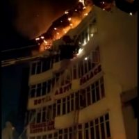 17 people die in Delhi's Karol Bagh hotel fire