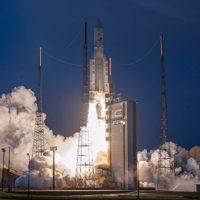 India's communication satellite GSAT-31 launched successfully from French Guiana