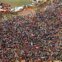 Fourth bathing festival of Prayagraj Kumbh tomorrow