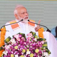 PM lays foundation stone of Integrated Command and Control Centres in Sikkim, Arunachal Pradesh and Tripura