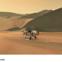 NASA's Dragonfly Will Fly Around Saturn's icy moon Titan Looking for Origins, Signs of Life