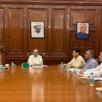 Union Home Minister Amit Shah Chairs a High Level Meeting to Review the Current Flood Situation