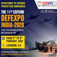 11th Defence Expo to be organised in Lucknow in February 2020