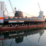 Mazagon Dock Shipbuilders Limited delivers second Scorpene submarine 'KHANDERI' to Indian Navy