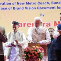 PM lays foundation stone for three metro lines