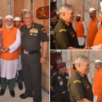 COAS Gen Bipin Rawat interacts with religious teachers from Reasi and Rajouri