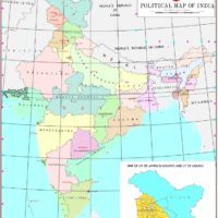 Govt releases India's map with newly formed Union Territories of Jammu Kashmir and Ladakh