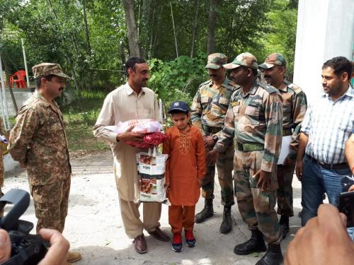 Good Will Gesture; India Today Repatriated 11 yrs Old Pakistani Boy Abdullah